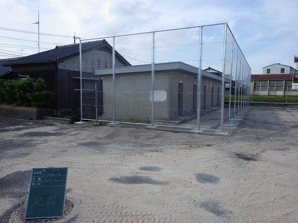 防球用スチール製フェンス